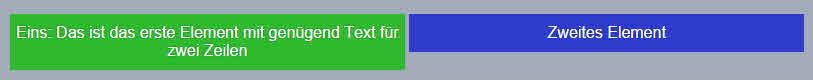Die Eigenschaft display: inline-block