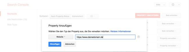 Google Search Property